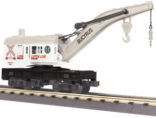 30-79577 O Scale MTH RailKing Crane Car-BNSF