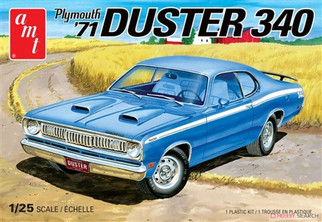 AMT1118 AMT '71 Plymouth Duster 340 1/25 Scale Plastic Model Kit