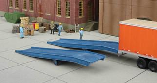 933-4130 HO Scale Walthers Cornerstone Loading Ramp 2-Pack