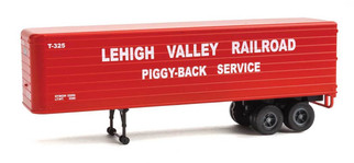 949-2422 HO Scale Walthers SceneMaster 35' Trailer 2-Pack Lehigh Valley