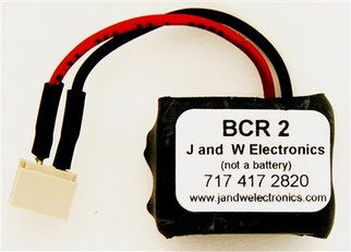 BCR2 O J and W Electronics 3v Battery Component Replacement