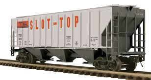 20-97355 O Scale MTH Premier PS-2CD High-Sided Hopper Car-TLDX(Slot Top)