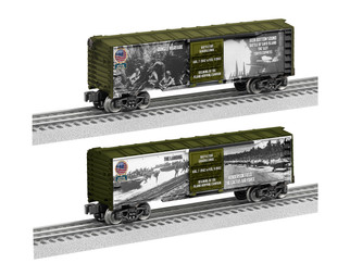 6-84666 O Scale Lionel USA Battle for Guadalcanal Boxcar