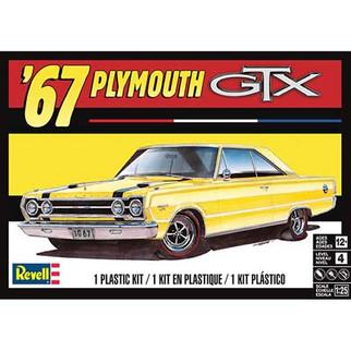 85-4481 Revell '67 Plymouth GTX 1/25 Scale Plastic Model Kit