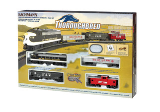 00691 HO Scale Bachmann Thoroughbred Train Set