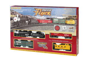00692 HO Scale Bachmann Pacific Flyer Train Set