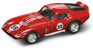 94242 O Scale Yat Ming 1965 Shelby Cobra Daytona Coupe-Red 1/43 Scale Die-Cast