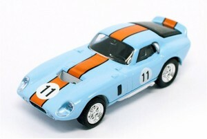 94242B O Scale Yat Ming 1965 Shelby Cobra Daytona Coupe-Light Blue 1/43 Scale Die-Cast
