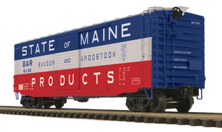 20-93772 O Scale MTH Premier 50' Ps-1 Box Car w/Youngstown Standard Door-Bangoor & Aroostook (State of Maine)