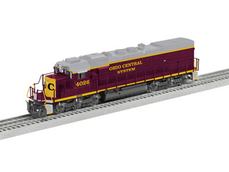 6-84629 O Scale Lionel LEGACY SD40T-2 Locomotive #4026