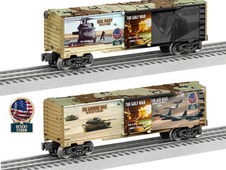 6-84669 O Scale Lionel Desert Storm Made in USA Boxcar