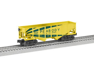 6-84770 O Scale Lionel Peabody Hopper 6-Pack