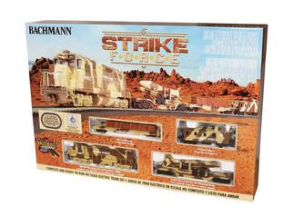 00752 HO Scale Bachmann Strike Force Train Set