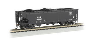 17603 HO Scale Bachmann 40' Quad Hopper Pennsylvania #249907