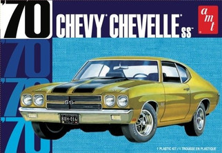 AMT1143 AMT '70 Chevy Chevelle SS 1/25 Scale Plastic Model Kit
