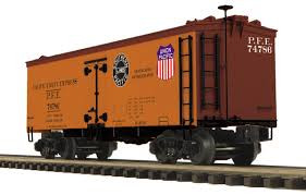 20-94421 O Scale MTH Premier 36' Woodsided Reefer Car-Pacific Fruit Express