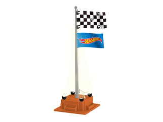 6-85270 O Scale Lionel Hot Wheels Checkered Flagpole