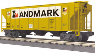 30-75608 O Scale MTH RailKing Ps-2 Discharge Hopper Car-Landmark No. 6846