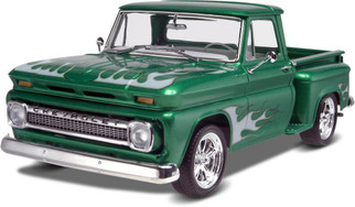 85-7210 Revell 1/25 '65 Chevy Stepside Pickup 2 'n 1 Plastic Model Kit
