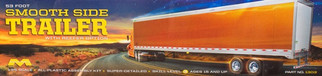 1303 Moebius 53 Foot Smooth Side Trailer w/Reefer Option 1/25 Scale Plastic Model Kit