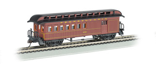 15202 HO Scale Bachmann Old-Tine Combine w/Rounded-End Clerestory Roof-PRR