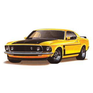 85-4313 Revell 1969 Boss 302 Mustang 1/25 Scale Plastic Model Kit