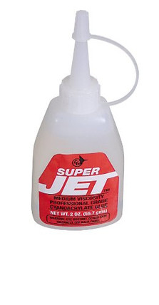 JET769 Super Jet 2 Oz. Medium Viscosity Professional Grade Cyanoacrylate Glue