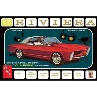 AMT1121 AMT '65 Riviera George Barris 1/25 Scale Plastic Model Kit