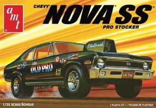 AMT1142 AMT Chevy Nova SS Pro Stocker 1/25 Scale Plastic Model Kit