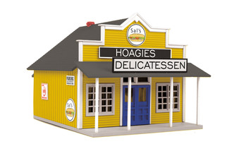 30-90564 O Scale MTH RailKing Country Store-Sal's Hoagies