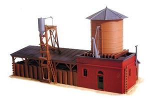 617 HO Scale Model Power Sand & Gravel Loading Station Kit