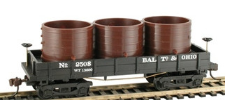 723025 HO Scale Mantua 1860 Wooden Water Car-B&O