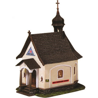 776M HO Scale Model Power 24 Hour Chapel Built-Up