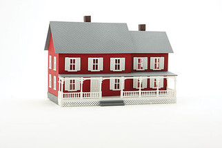 782 HO Scale Model Power  Stevenson's House Built-Up