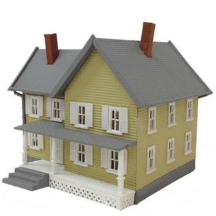 781 HO Scale Model Power Jackson's House Built-Up