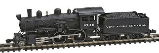 87630 N Scale Model Power 4-4-0 American Locomotive-NYC