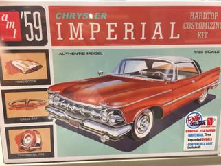 AMT1136 AMT '59 Chrysler Imperial Hardtop 1/25 Scale Plastic Model Kit