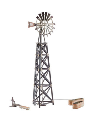 BR5867 O Scale Woodland Scenics Old Windmill Built-and-Ready