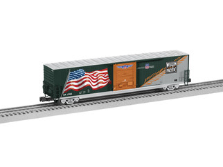 6-85407 O Scale Lionel WP Heritage LED Flag Boxcar #1983