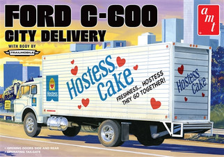 AMT1139 AMT Ford C-600 City Delivery 1/25 Scale Plastic Model Kit