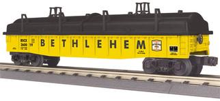 30-72206 O Scale MTH RailKing Gondola Car w/Cover-Bethlehem #260019