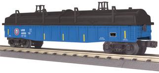 30-72205 O Scale MTH RailKing Gondola Car w/Cover-Union Railroad #600019