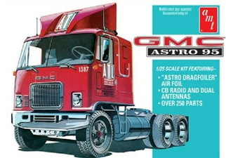 AMT1140 AMT GMC Astro 95 Truck Tractor 1/25 Scale Plastic Model Kit