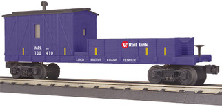 30-79586 O Scale MTH RailKing Crane Tender Car-Montana Rail Link