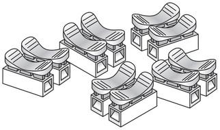 JP5686 Woodland Scenics Splicer Plugs