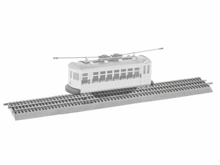 6-84373 O Scale Lionel Special Trolley Announcement Track