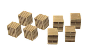 20238 HO Scale Classic Metal Works Wooden Palletts