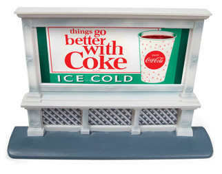 20237 HO Scale Classic Metal Works Billboard Coca-Cola