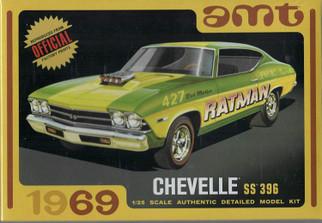 AMT1138 AMT 1969 Chevelle SS396 1/25 Scale Plastic Model Kit