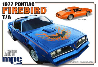 MPC916 MPC 1977Pontiac Firebird T/A 1/25 Scale Plastic Model Kit